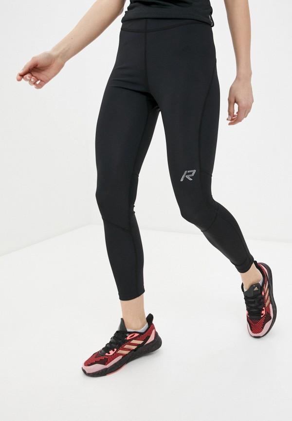 женские спортивные леггинсы rukka, черные
