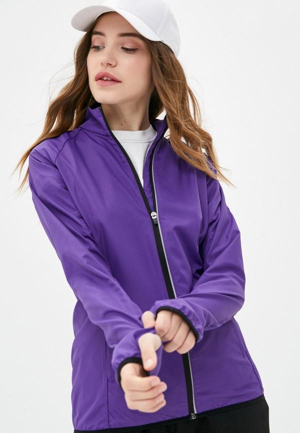 женская ветровка rukka, фиолетовая