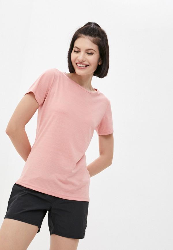 женская спортивные футболка rukka