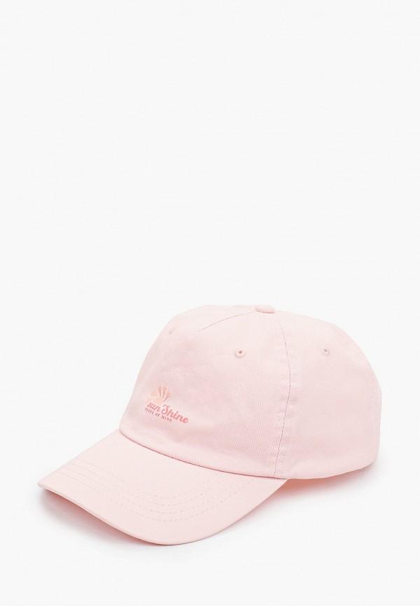 женская бейсболка rubi, розовая