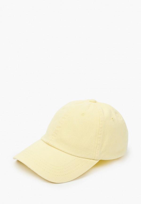 женская бейсболка rubi, желтая