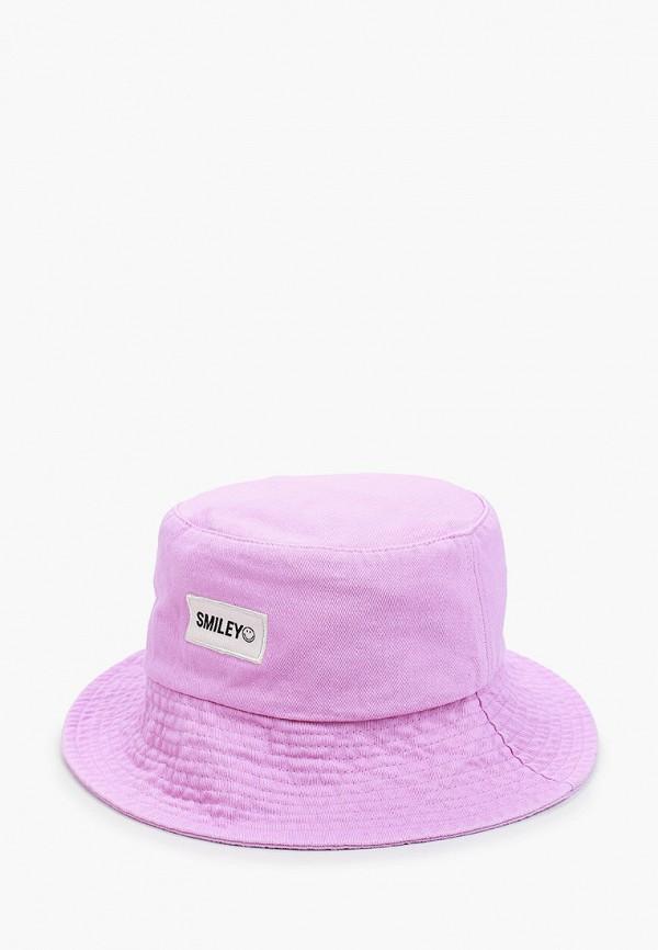 женская панама rubi, розовая