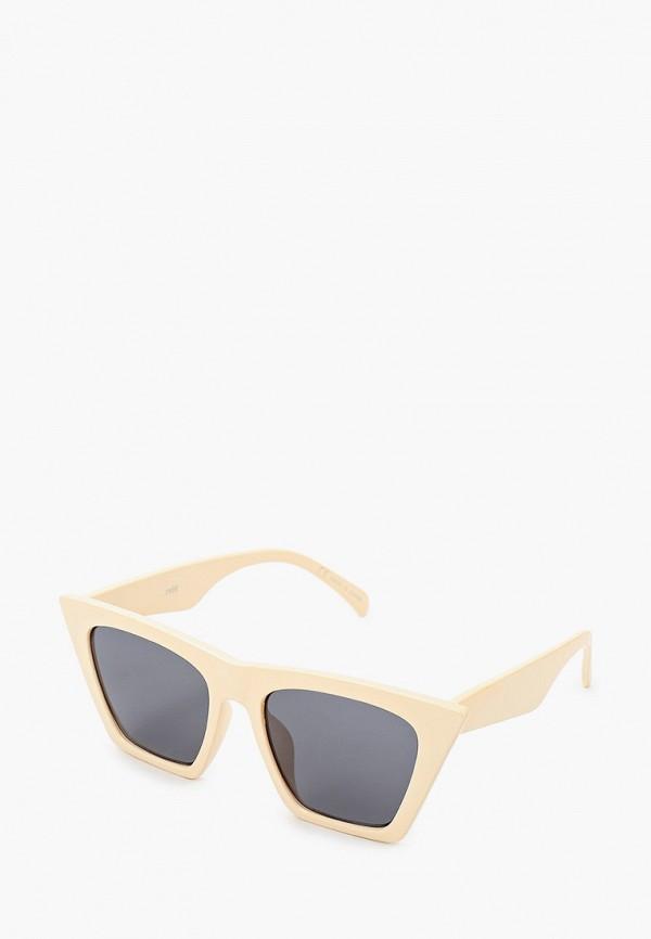 женские солнцезащитные очки rubi, бежевые