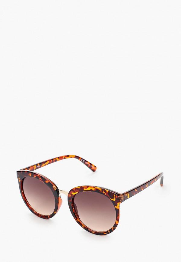 женские солнцезащитные очки rubi, коричневые