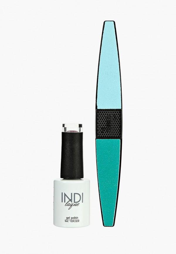 Купить Набор для ухода за ногтями Runail Professional, пилка для ногтей и Гель-лак INDI laque, 9 мл №3575, ru010lwcore1, фиолетовый, Осень-зима 2018/2019