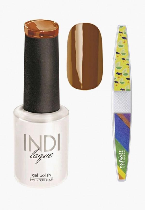 лак для ногтей runail professional, коричневый