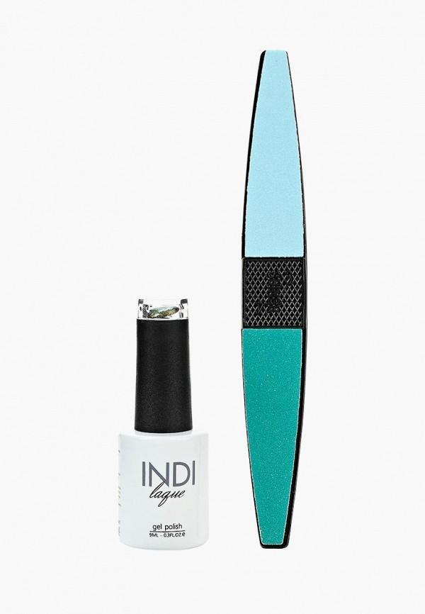 Купить Набор для ухода за ногтями Runail Professional, пилка для ногтей и Гель-лак INDI laque, 9 мл №3675, ru010lwcorl7, хаки, Осень-зима 2018/2019