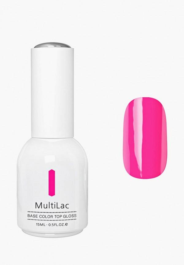 Купить Гель-лак для ногтей Runail Professional, MultiLac классический, цвет: Розовый неон, Pink Neon, 15 мл, RU010LWCWGX1, розовый, Осень-зима 2018/2019