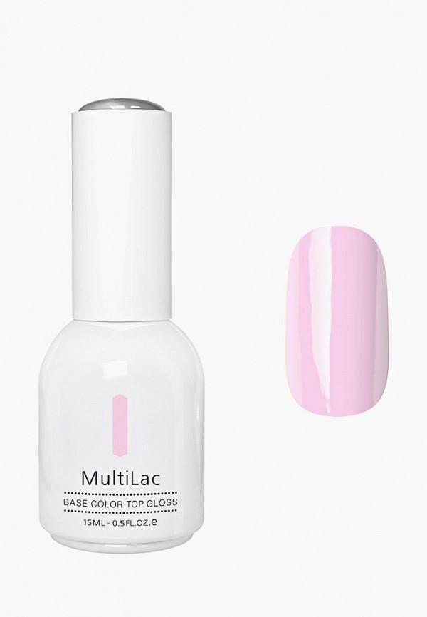 Купить Гель-лак для ногтей Runail Professional, MultiLac классический, цвет: Эвелина, Evelina, 15 мл, RU010LWCWGX2, розовый, Осень-зима 2018/2019
