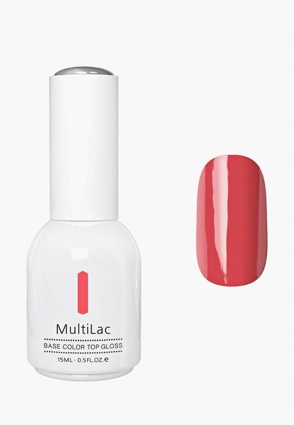 Купить Гель-лак для ногтей Runail Professional, MultiLac классический, цвет: Калина красная, Red Viburnum, 15 мл, RU010LWCWGZ2, коралловый, Осень-зима 2018/2019