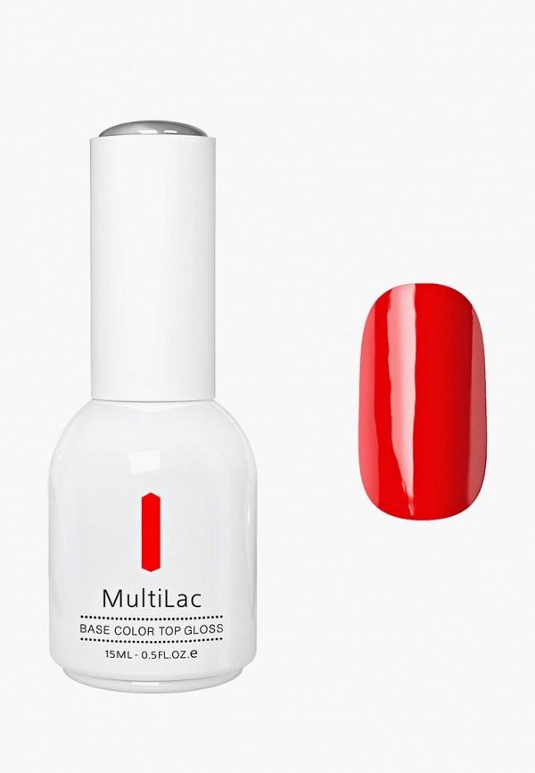 женский лак для ногтей runail professional, красный