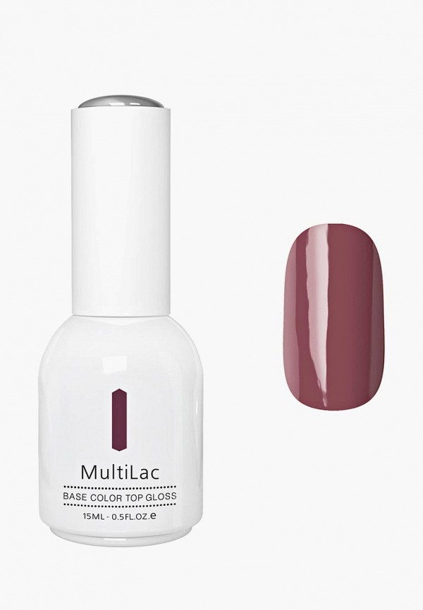 Купить Гель-лак для ногтей Runail Professional, MultiLac классический, цвет: Креольское танго, Creole Tango, 15 мл, RU010LWCWHA7, бордовый, Осень-зима 2018/2019