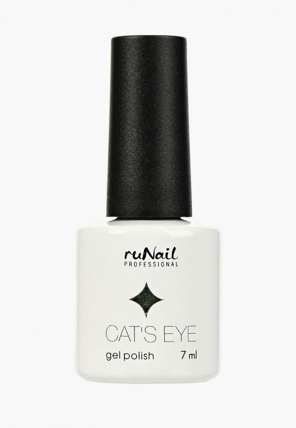 Купить Гель-лак для ногтей Runail Professional, Cat's eye (золотистый блик: Яванская кошка, Javanese cat), ru010lwcwhb2, зеленый, Осень-зима 2018/2019