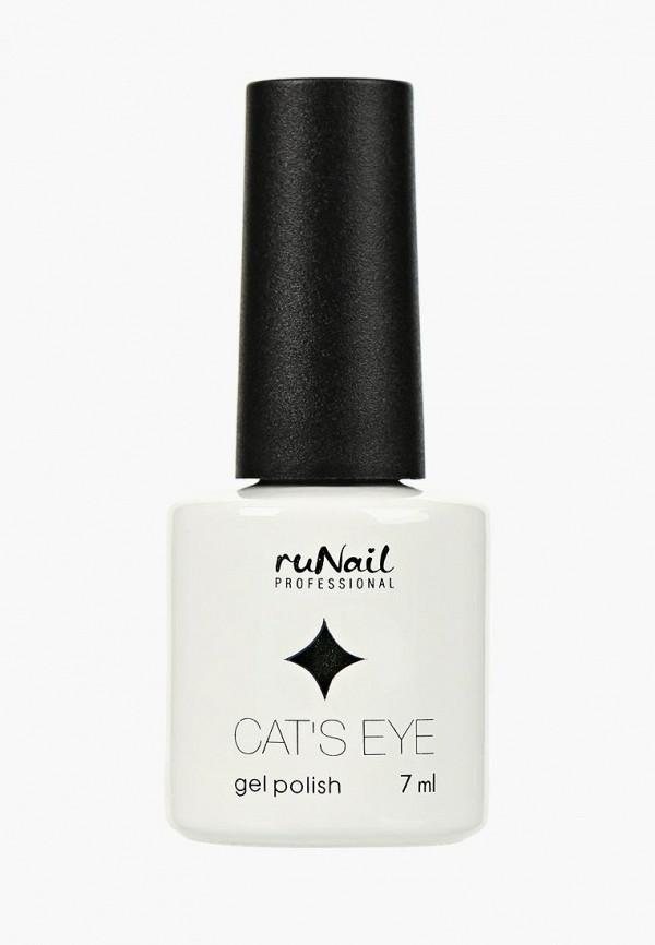 Купить Гель-лак для ногтей Runail Professional, Cat's eye (золотистый блик, цвет: Кельтская кошка, , ru010lwcwhb4, зеленый, Осень-зима 2018/2019
