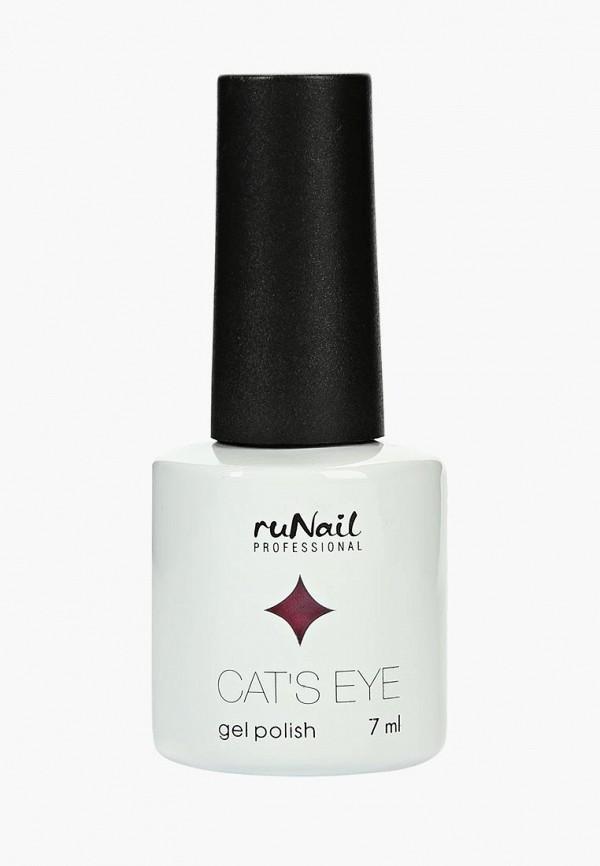 Купить Гель-лак для ногтей Runail Professional, Cat's eye (серебристый блик, цвет: Гламурная кошка, Glamorous cat), ru010lwcwhc1, розовый, Осень-зима 2018/2019