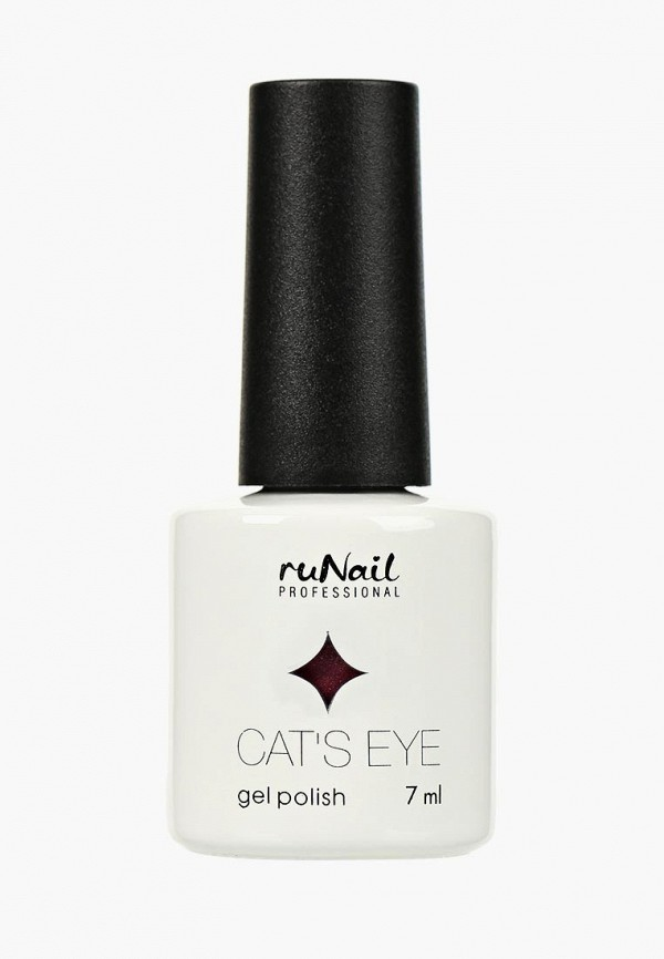 Купить Гель-лак для ногтей Runail Professional, Cat's eye (серебристый блик, цвет: Ласковая кошка, Gentle cat), ru010lwcwhc2, фиолетовый, Осень-зима 2018/2019