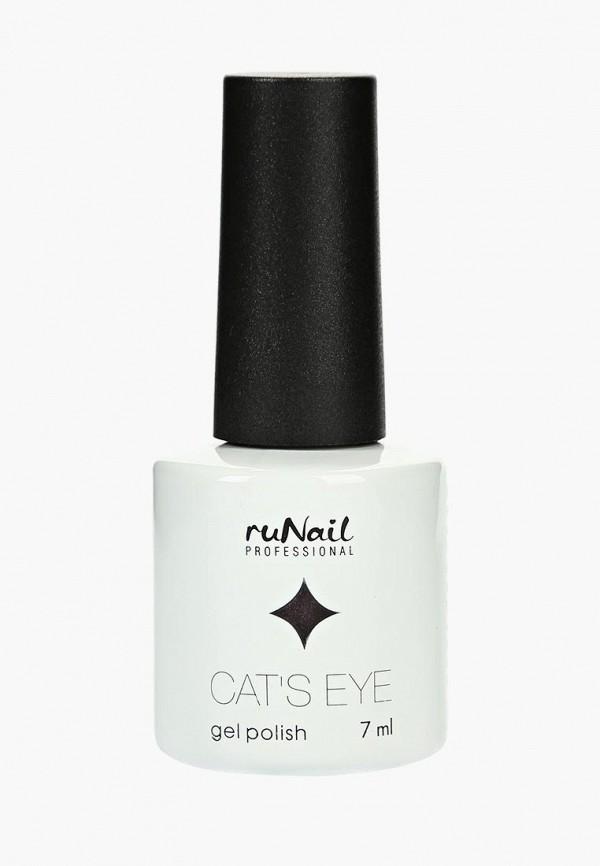Купить Гель-лак для ногтей Runail Professional, Cat's eye (серебристый блик, цвет: Японская кошка, Japanese cat), ru010lwcwhc8, фиолетовый, Осень-зима 2018/2019