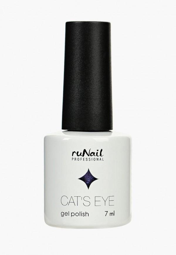 Купить Гель-лак для ногтей Runail Professional, Cat's eye (серебристый блик, цвет: Ангорская кошка, Angora cat), ru010lwcwhc9, фиолетовый, Осень-зима 2018/2019