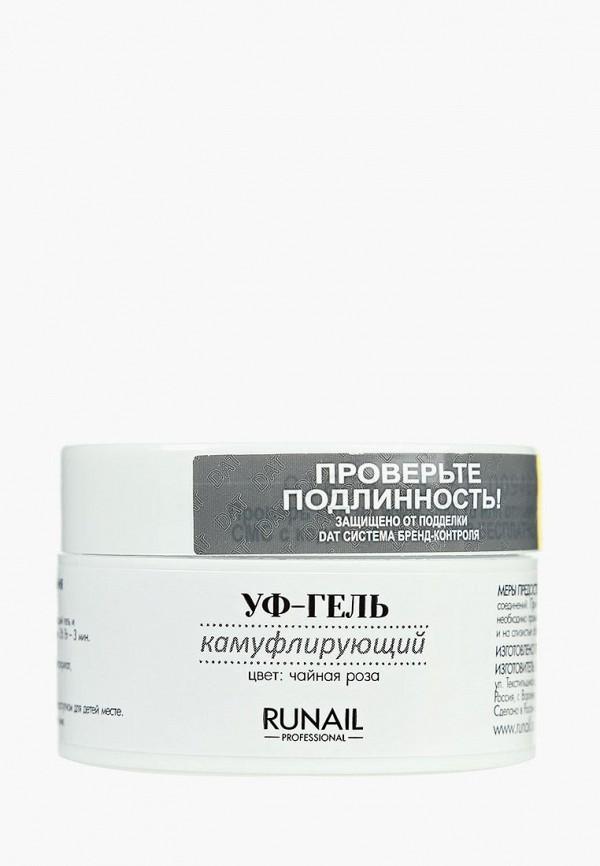 Купить Гель-лак для ногтей Runail Professional, Камуфлирующий (цвет: Чайная роза), 15 г, ru010lwcwhe3, прозрачный, Весна-лето 2019