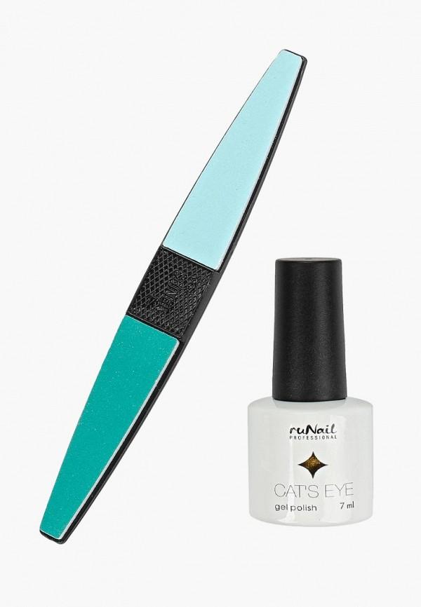 лак для ногтей runail professional, белый