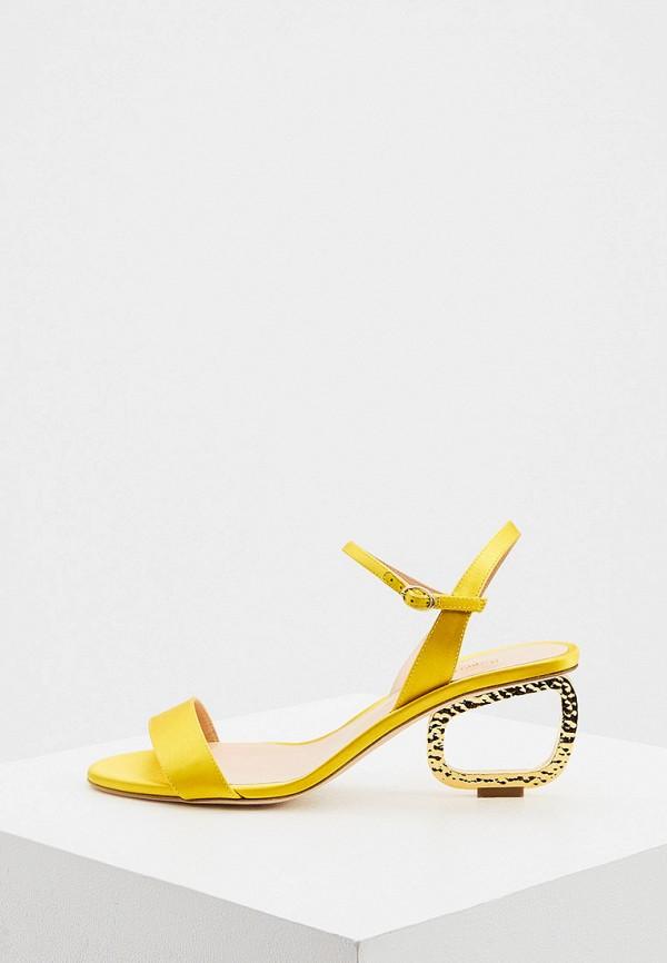 женские босоножки rupert sanderson, желтые