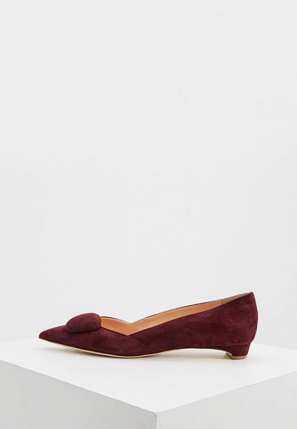 женские туфли rupert sanderson, бордовые