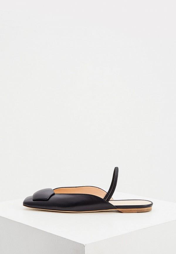 женские сандалии rupert sanderson, черные