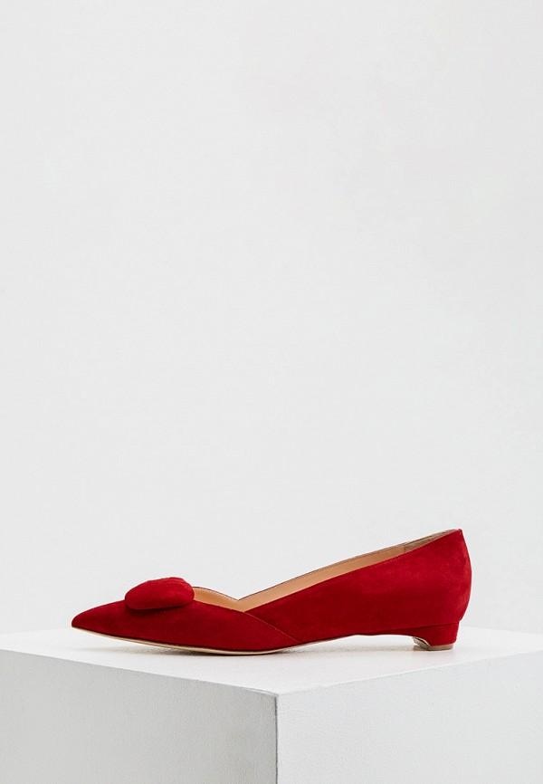 женские туфли rupert sanderson, красные
