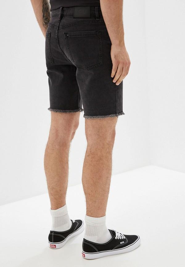 Фото 3 - Шорты джинсовые RVCA черного цвета