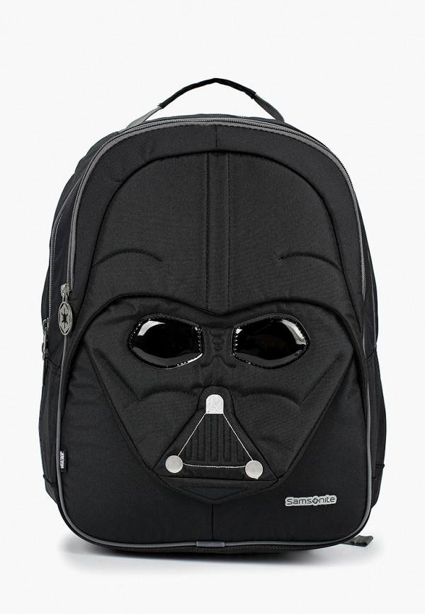 рюкзак samsonite для мальчика, черный