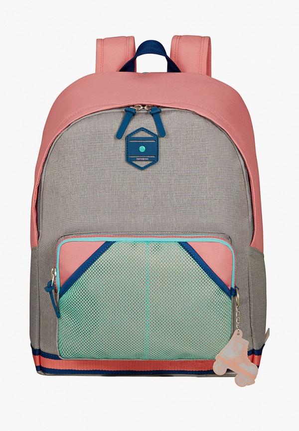 рюкзак samsonite для девочки, розовый