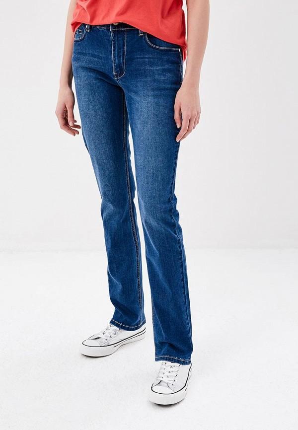 женские прямые джинсы savage, синие