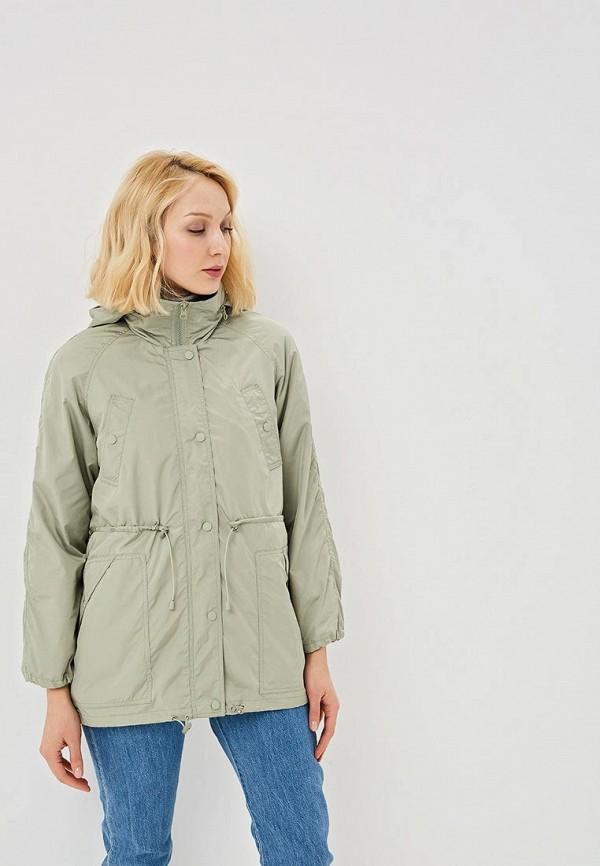 Фото - женское пальто или плащ Savage зеленого цвета