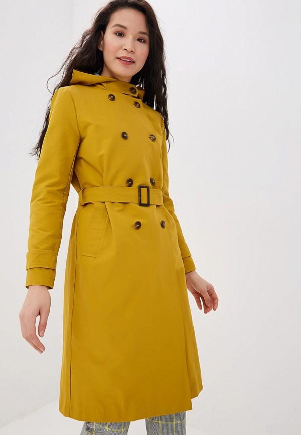 Женский желтый осенний плащ SAVAGE
