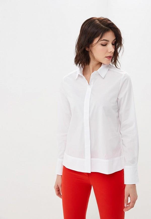 женская рубашка с длинным рукавом savage, белая