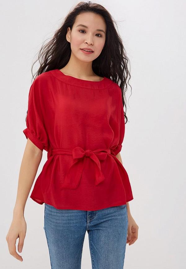 женская блузка savage, красная