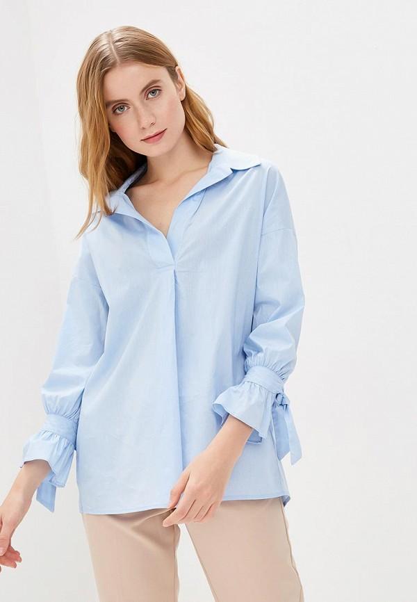 женская блузка savage, голубая