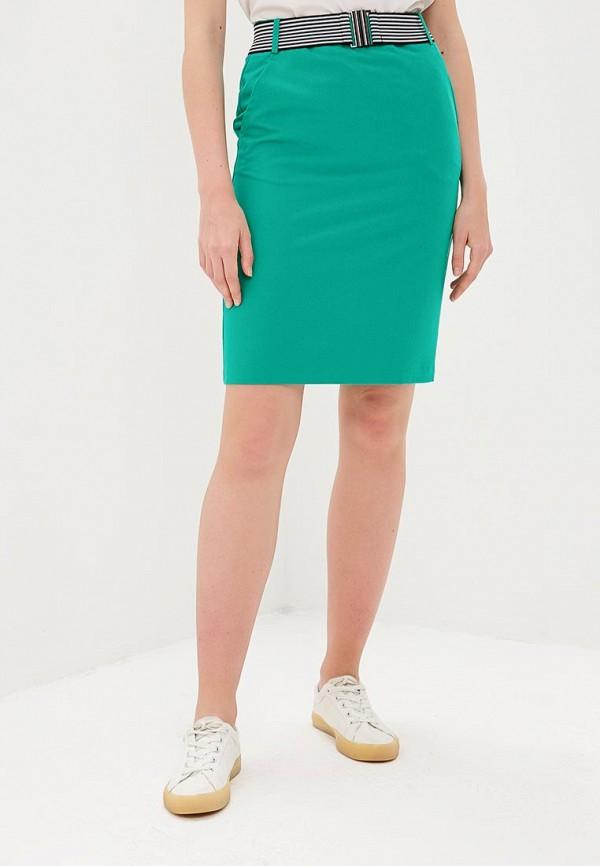 женская прямые юбка savage, зеленая