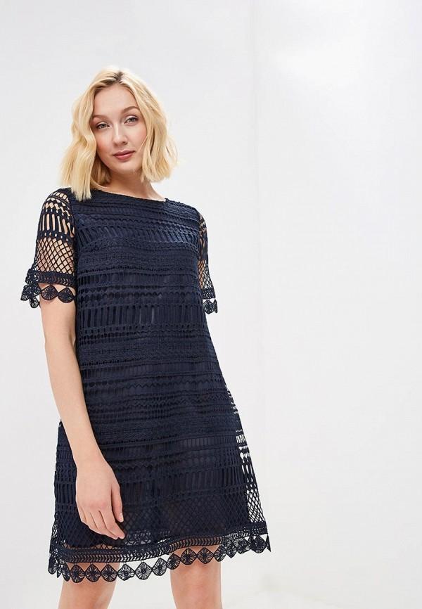 женское повседневные платье savage, синее