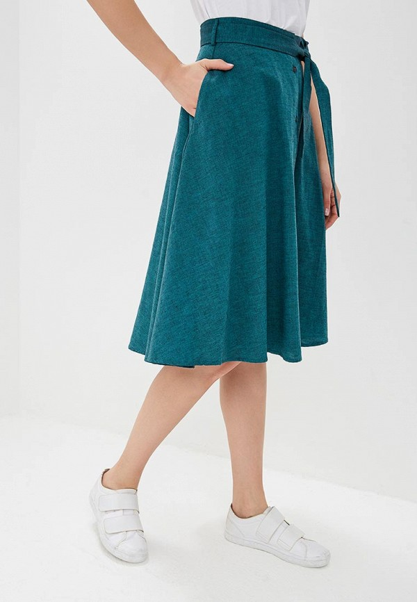 женская юбка savage, зеленая