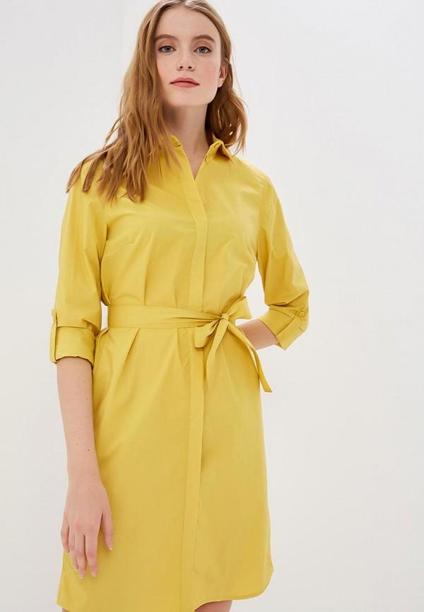 женское платье savage, желтое