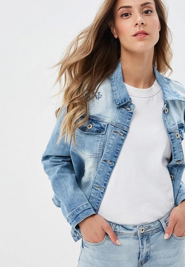 Куртка джинсовая Savage Savage SA004EWEHMQ6 куртка женская savage цвет графитовый 910109 86 размер 44