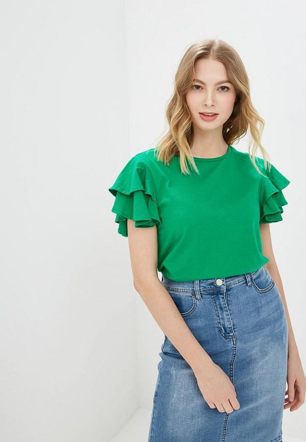 женская футболка savage, зеленая