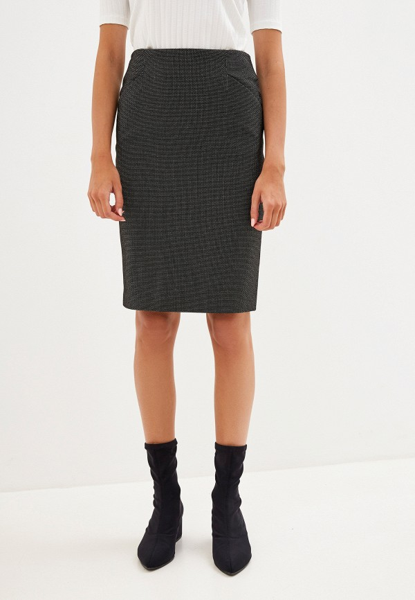 женская прямые юбка savage, черная
