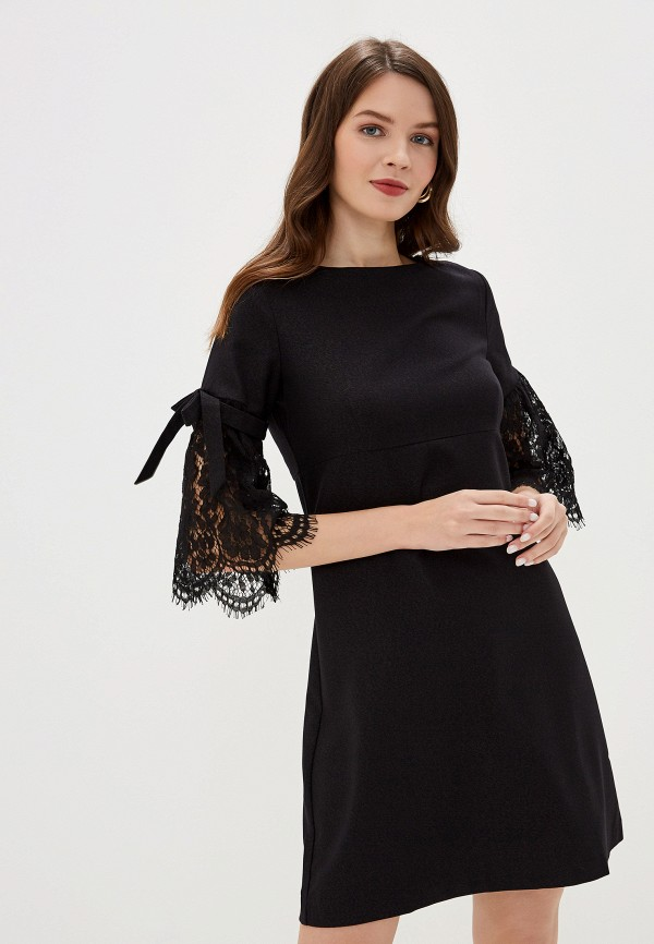 женское вечерние платье savage, черное