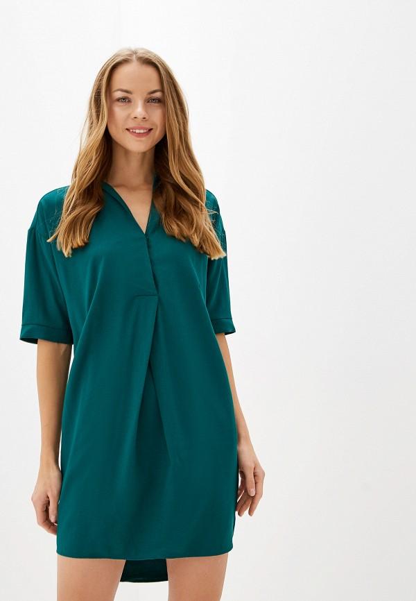 женское платье savage, зеленое