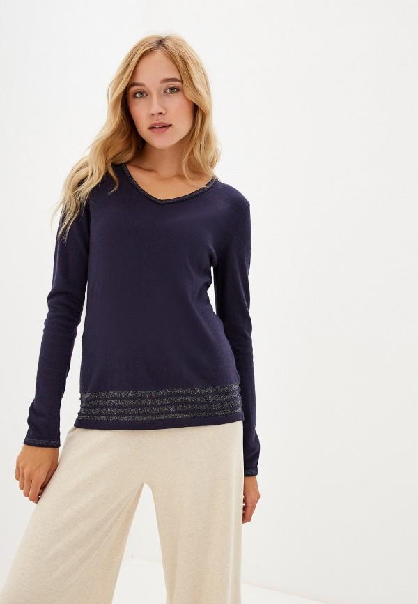 женский пуловер savage, синий
