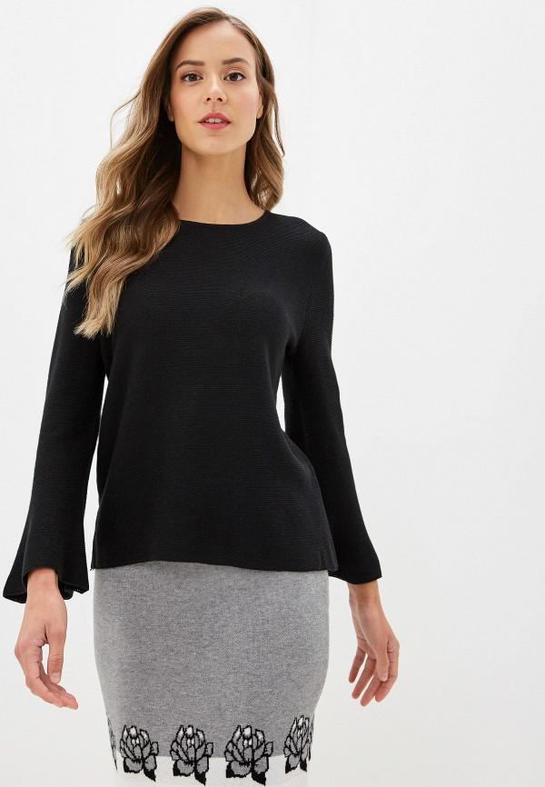 женский пуловер savage, черный