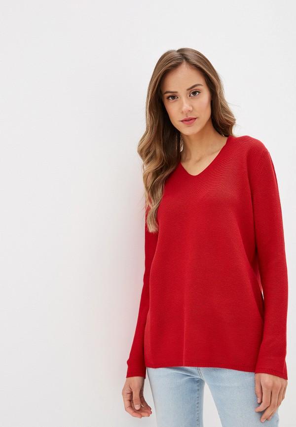 женский пуловер savage, красный