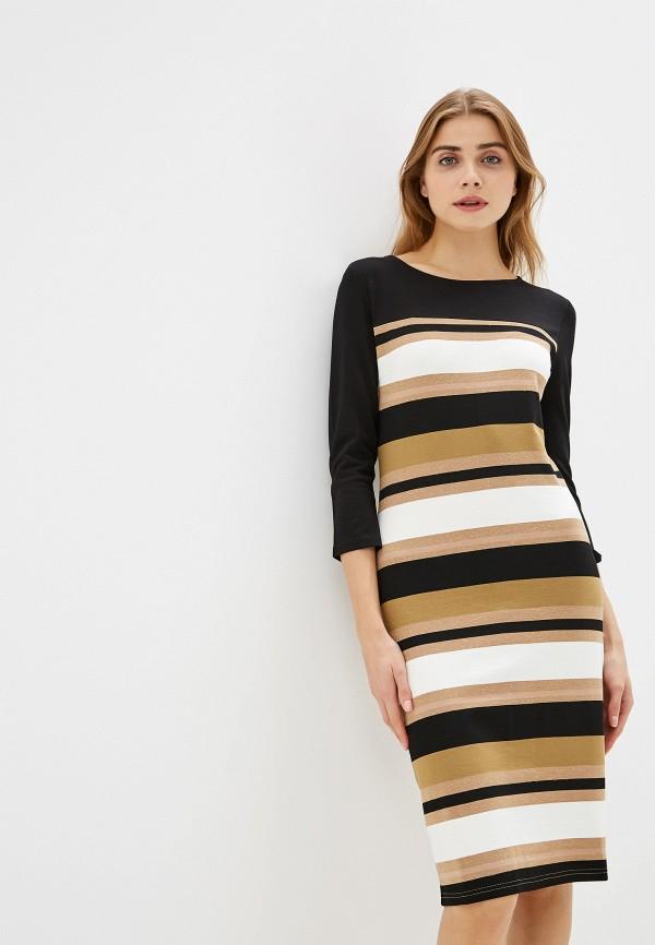 женское повседневные платье savage, коричневое